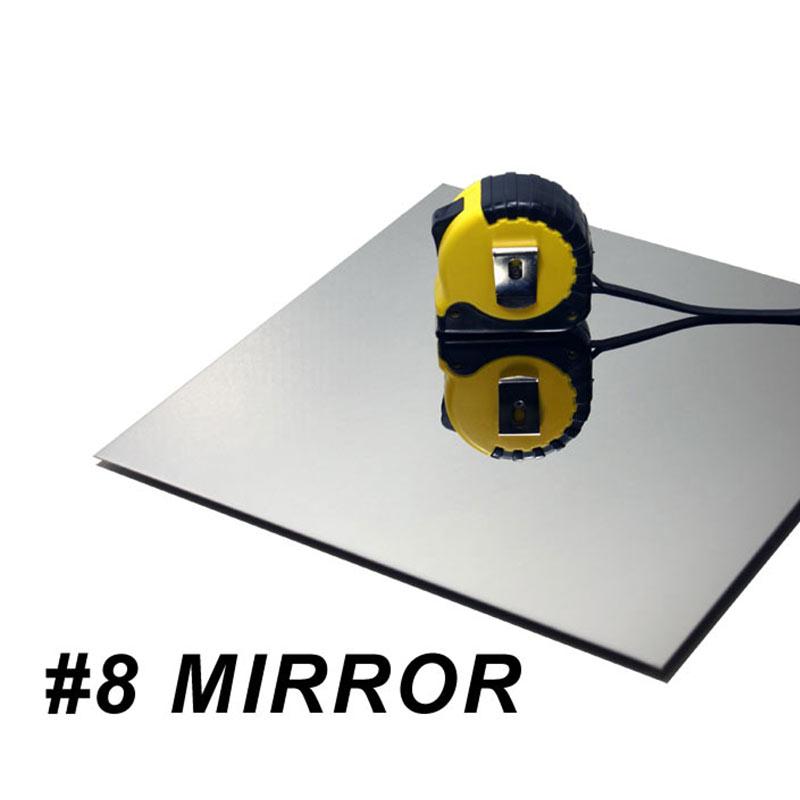 Листа от неръждаема стомана от огледало 304 8k за огледало за декорация на асансьори