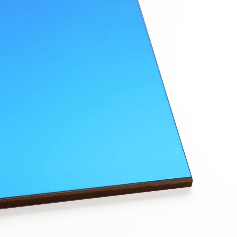 Горещ разпродажбен лист от огледало със сапфир от неръждаема стомана за кухненски шкаф за стени