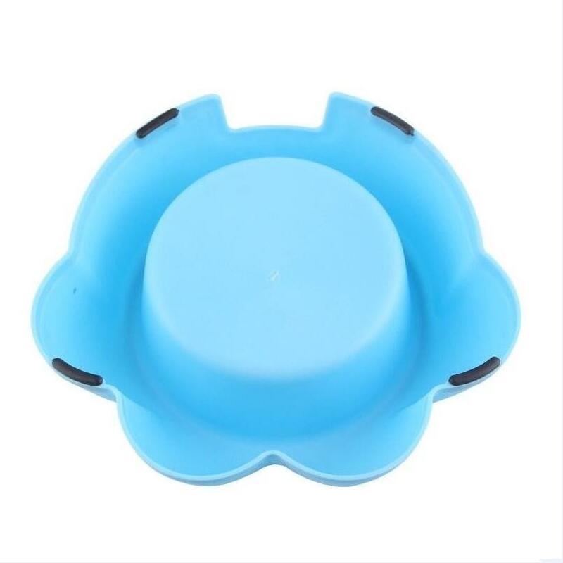на едро лапа с форма на фидер пластмасови пътуване на открито на закрито куче домашни любимци купа
