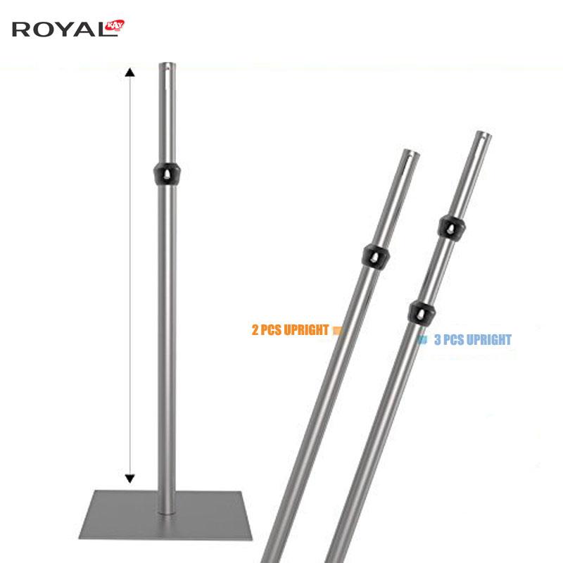 Регулируема вертикална стойка за тръби и планки 5ft-8ft