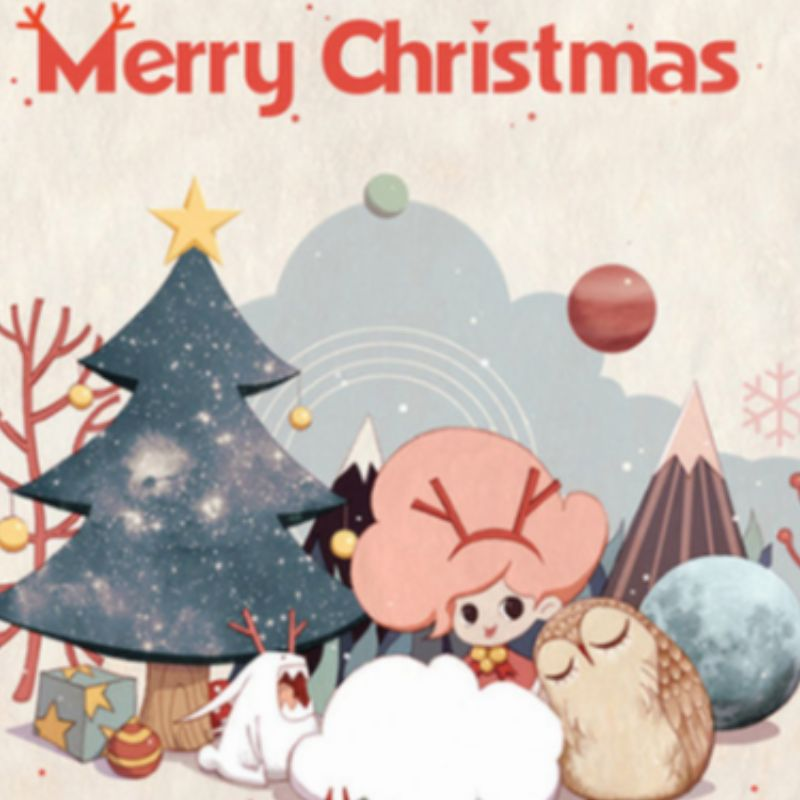 Весела Коледа или Честита Коледа