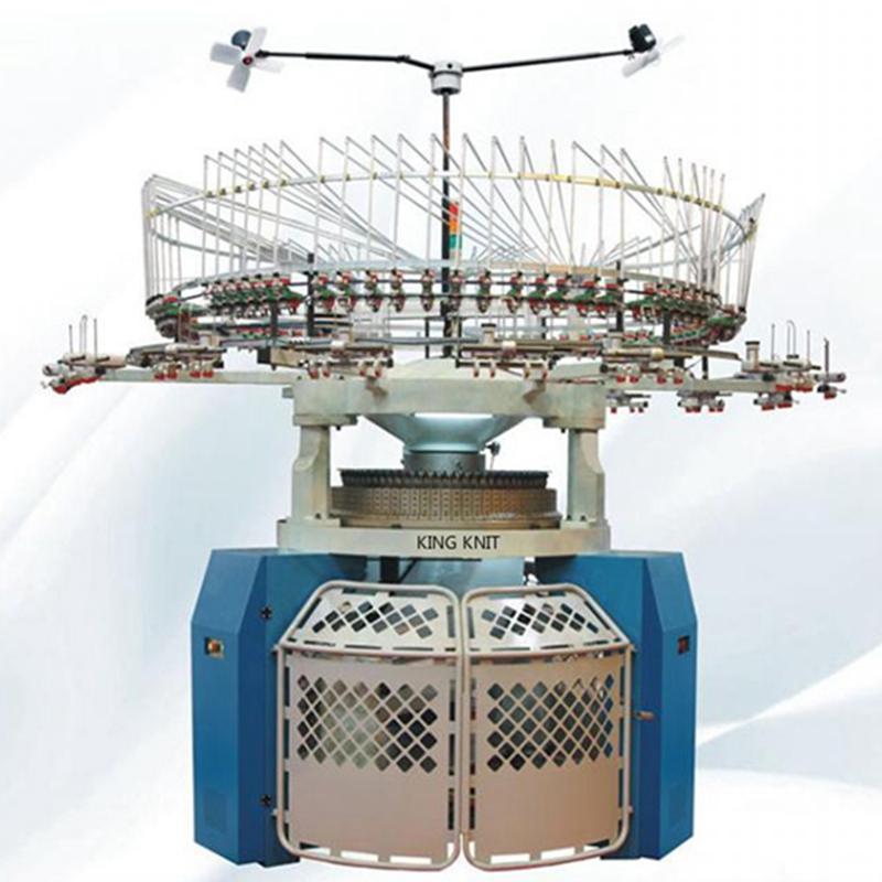 Двойна фланелка, клиновидна, кръгла, плетена машина Майер