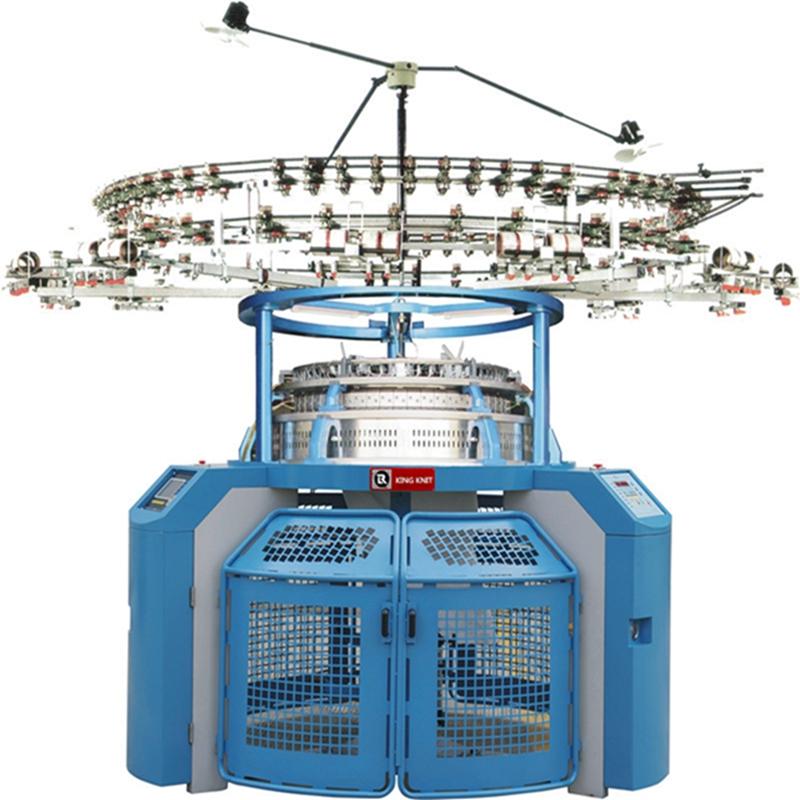 Korea 4 -писък еднопистов трикотажен трикотажен механизъм