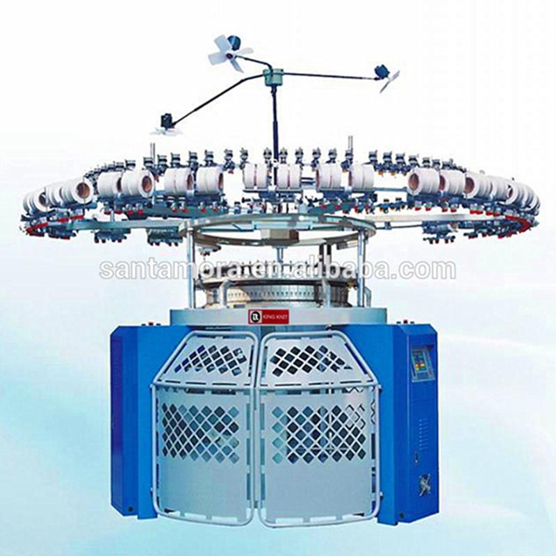 Електронна машина за плетене с кръгли ленти