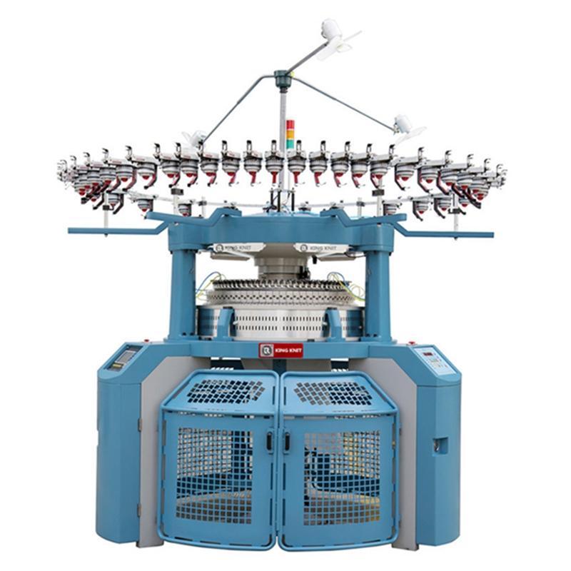джакквард 4 коловозен производител на трикотажна машина