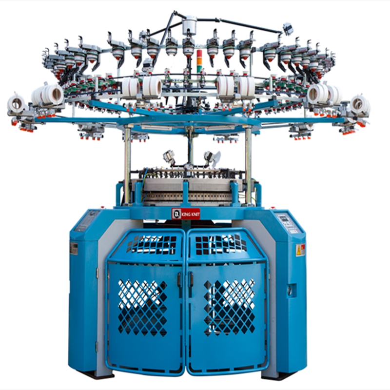 Многофункционална единична кръгла плетачна машина KKC-S803